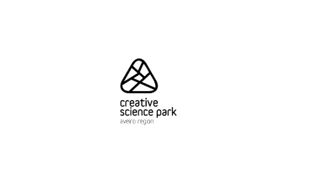 Logo do Creative Science Park - Aveiro Region